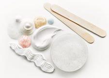 Różnorodne kosmetyczne śmietanki Obrazy Stock