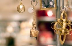 różnorodne ornament błyskotki Fotografia Stock