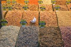 Różnorodne pikantność przy pikantnością Wprowadzać na rynek w Istanbuł zdjęcie royalty free