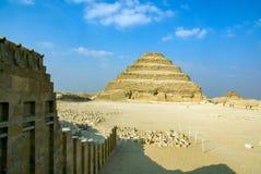 Różnorodne turystyczne fotografie sławni miejsca w Kair Egipt zdjęcia stock