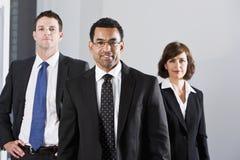 różnorodni biznesmenów kostiumy zdjęcia royalty free