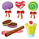 Różnorodni cukierki Obraz Stock