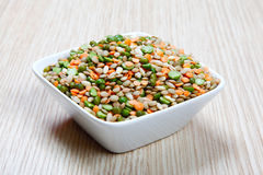 Różnorodni legumes Fotografia Stock