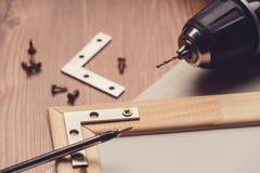 Różnorodni locksmith narzędzia obrazy royalty free