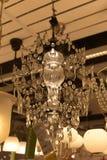 Różnorodni oświetleniowi elementy wyposażenia, lampy i nightlights w Ikea sto, Zdjęcie Stock