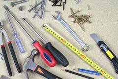 Różnorodni prac narzędzia obrazy stock