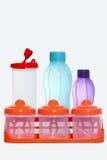 Różnorodni rodzaje i formy odizolowywający na białym tle jedzenie i napój, Obraz Stock