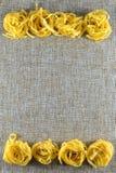 Różnorodni typ makaron włoszczyzna Obrazy Royalty Free