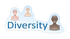 różnorodność ilustracja wektor