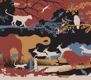 Różnorodność biologiczna ilustracja wektor