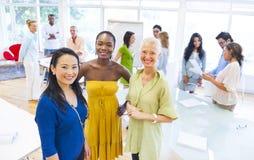 Różnorodność biznes drużyna Obrazy Royalty Free
