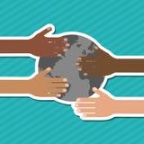 Różnorodność graficzny projekt, wektorowa ilustracja ilustracji