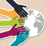 Różnorodność graficzny projekt, wektorowa ilustracja royalty ilustracja