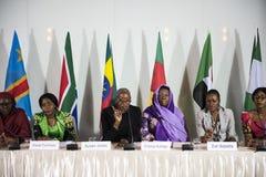Różnorodność ludzie Reprezentują konferenci międzynarodowa partnerstwo fotografia royalty free