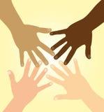 różnorodność ręki Zdjęcia Royalty Free