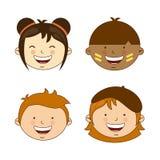 Różnorodność rasy ilustracji