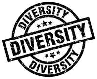 Różnorodność znaczek royalty ilustracja