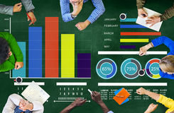 Różnorodności strategii Brainstorming dyskusi pojęcie ludzie Fotografia Stock