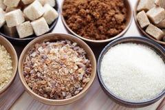 Różnorodny cukier zdjęcie stock