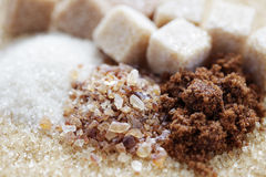 Różnorodny cukier obrazy stock