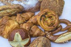 Różnorodny francuski chleb obraz royalty free