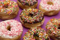 Różnorodny Kropi Donuts fotografia royalty free