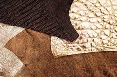 Różnorodny skóry tło zdjęcie royalty free