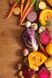 Różnorodny surowi warzywa zdjęcie royalty free