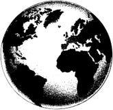 różny kuli ziemskiej ilustraci wektor przeglądać świat Obrazy Royalty Free