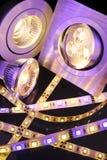 Różny LEDs Zdjęcie Stock