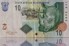 Różny pieniądze od Południowa Afryka Obrazy Royalty Free
