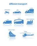 Różny transport Obraz Royalty Free