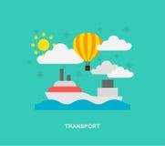 Różny transport ilustracji