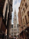 Różny widok Brukselski urząd miasta obrazy stock