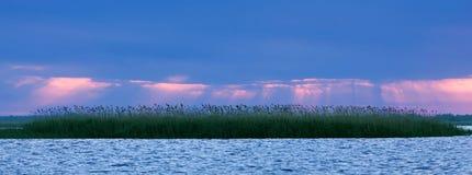 Różny wschód słońca Fotografia Royalty Free