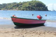 Różowa łódź Obraz Royalty Free