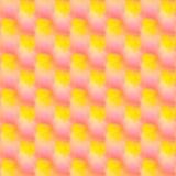 różowa żółta słodka tekstura Obrazy Stock
