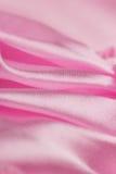 Różowa atłasowa tkanina Zdjęcia Royalty Free