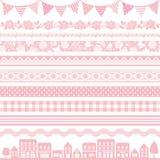 Różowa dekoracja Zdjęcie Stock