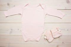 Różowa dziecko odzież fotografia royalty free