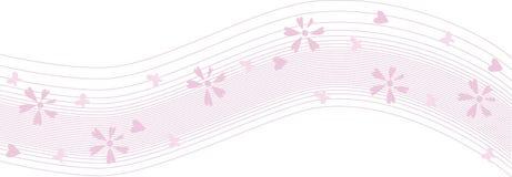 różowa fala Zdjęcie Royalty Free