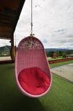 Różowa huśtawka Zdjęcie Stock