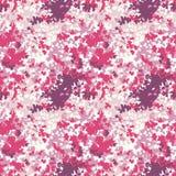 Różowa kamuflaż tekstura Obraz Royalty Free