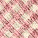 Różowa klasyczna w kratkę tkanina obraz stock