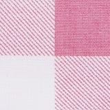 Różowa klasyczna w kratkę tkanina zdjęcie stock
