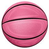 Różowa koszykówka Fotografia Royalty Free