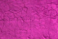 Różowa kreatywnie pasiasta łamająca sztukateryjna tekstura - cudowny abstrakcjonistyczny fotografii tło obrazy royalty free