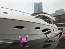 Różowa kreskówki świnia z skrzydłami fotografia royalty free