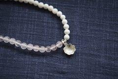 Różowa Krystaliczna bransoletka Obrazy Royalty Free