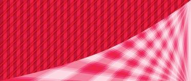 Różowa lekka sztandar krzywa Fotografia Royalty Free